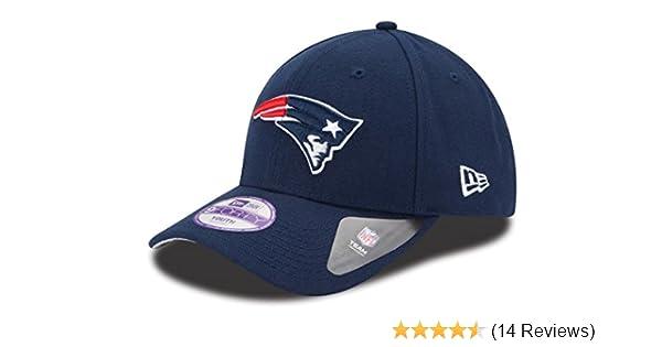 8f575950 Amazon.com : New England Patriots New Era Youth NFL 9Forty