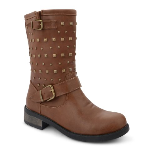 Dolcis - Botas de material sintético para mujer marrón - canela