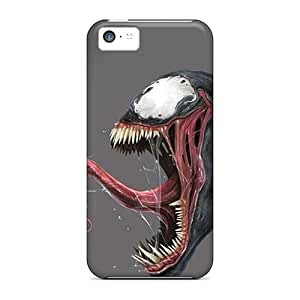 Anti-Scratch Cell-phone Hard Covers For Iphone 5c With Support Your Personal Customized High Resolution Venom Pattern ErleneRobinson