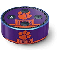 Clemson University Echo Dot (2nd Gen, 2016) Skin - Tigers Clemson Vinyl Decal Skin For Your Echo Dot (2nd Gen, 2016)