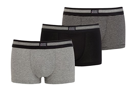 Stretch 3 Cotton Negro Boxer Los Jockey Hombres pack Para qRzCnnT7