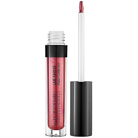 (MAKE UP FOR EVER Lab Shine Lip Gloss Metal Collection - M12 0.09)