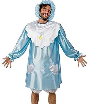 9c16e3970fac1 Costume de bebe garcon adulte Taille unique - Deguisement - Bleu - 108