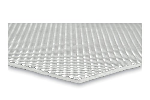 DEI 050509 Boom Mat Floor & Tunnel Shield II - Heat and Sound Insulation, 42'' x 48'' (14 sq. ft.) by Design Engineering