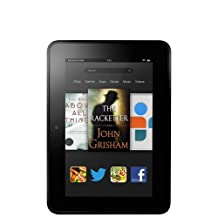"Kindle Fire HD Tablet 7"" HD Display, Dolby Audio, Dual-Band Dual-Antenna Wi-Fi, 16GB [Previous Generation]"