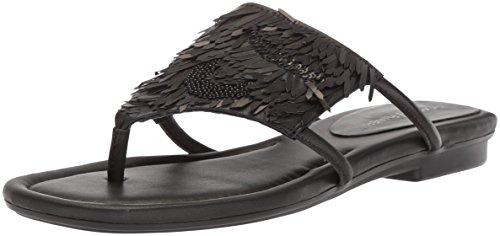 Donald J Pliner Women's Kya Slide Sandal, Black, 10 Medium US by Donald J Pliner (Image #1)