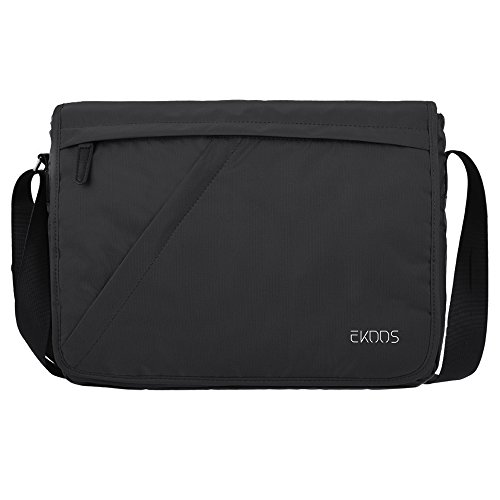 1150 Dry Box - Laptop Messenger Bag ,EKOOS Laptop Shoulder Bag Water Resistant Briefcase Crossbody Day Bag for Work University Travel Sport 14 inch