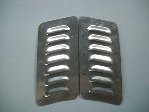 RodLouvers Pair of Angled Aluminum 3