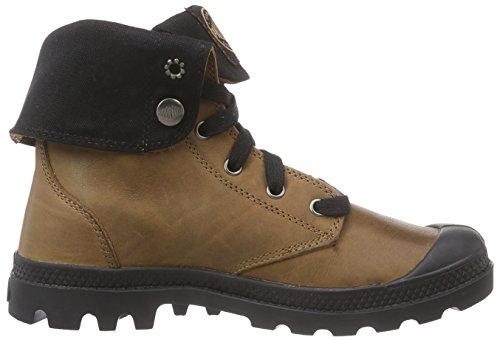 Palladium BAGGY LEATHER - Botas de aventura, talla: 39,5, color: Marrón marrón - Braun (C. Brown/Black/Black 236)