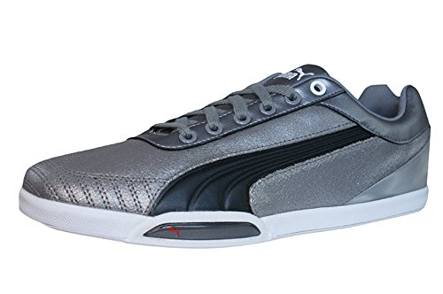 Puma 1198 HC hommes Cuir chaussures / Chaussures - argenté