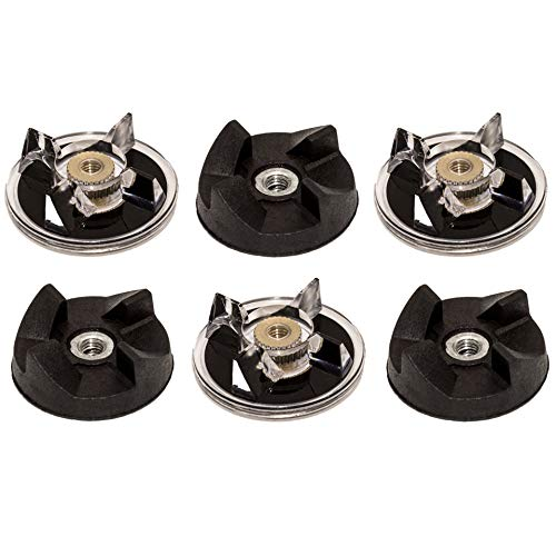 Gear Replacement Part for Magic Bullet 250W Blenders MB1001 - Pack of 6 ()