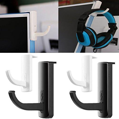 New Headphones Holder Earphone Headset Wall PC Monitor Display Hanger Stand
