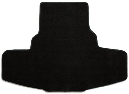 -piece Trunk Area Carpet Floor Mat for Dodge Charger (Premium Nylon, Black) (Dodge Charger Black Carpet)