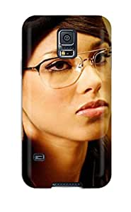 New Arrival Galaxy S5 Case Alicia Keys For Computer Case Cover