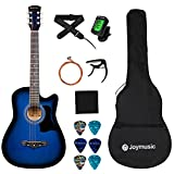 "Joymusic 6 String 38"" Acoustic Guitar"