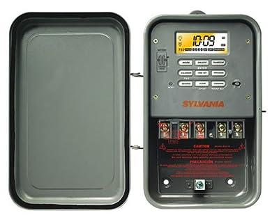 Sylvania SA310 40 Amp 120-Volt Single-Pole Zip Set Outdoor Industrial Timer