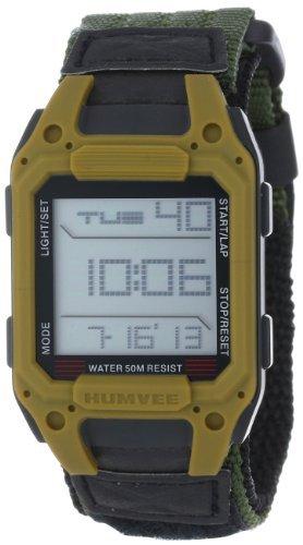 Humvee Watch - HUMVEE HMV-W-RCN-OD Digital Recon Watch with Olive Nylon Strap