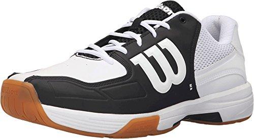 Wilson Recon Herren Indoor Court Schuh Schwarz / Weiß Weiß schwarz