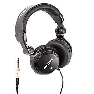 Tascam TH-03 Studio Headphones – Closed Bac...