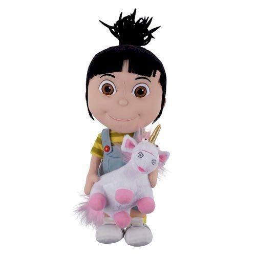 Despicable Me Agnes Holding Unicorn Plush]()