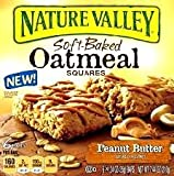 Nature Valley, Soft Baked Squares, Peanut Butter, 7.44oz Box (Pack of 6)