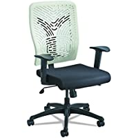 Safco Products 5085LT Voice Plastic Back Task Chair, Latte