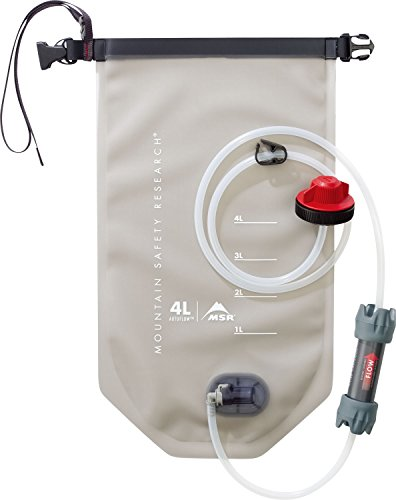 MSR AutoFlow Gravity Water Filter for Camping and Backpacking, 4-Liter