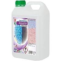 DESINCRUSTANTE AQUACLOR - Elimina la Cal, el salitre, Suciedad, velos Blancos y humedades. (5 litros)