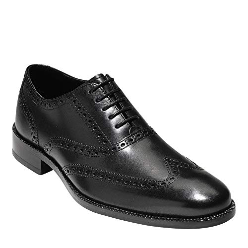 Cole Haan Men's Williams Wing II Oxford, Black, 8.5 Medium US