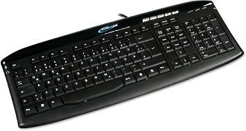 Everglide by Razer t-1000 PRO Keyboard USB 2.0 Gamer Tastatur ultra flach Gaming