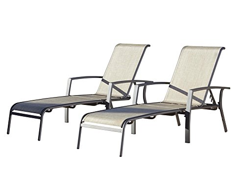 home kitchen features cosco outdoor adjustable aluminum chaise lounge chair set ebay. Black Bedroom Furniture Sets. Home Design Ideas
