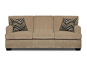 Simmons Upholstery Sassy Barley Hide-a-Bed, Queen