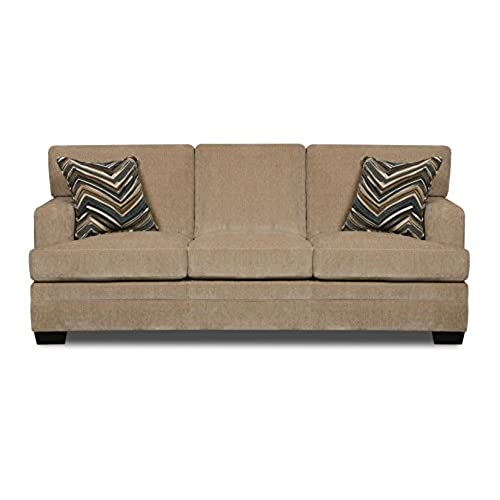 queen sofa bed. Unique Bed Simmons Upholstery Sassy Barley HideaBed Queen To Sofa Bed L