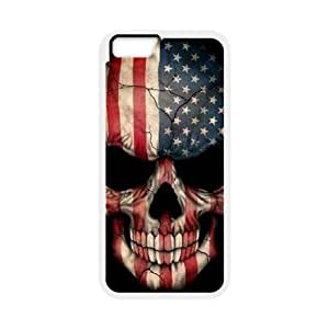 Skull Design iPhone 6 Case White Yearinspace106664