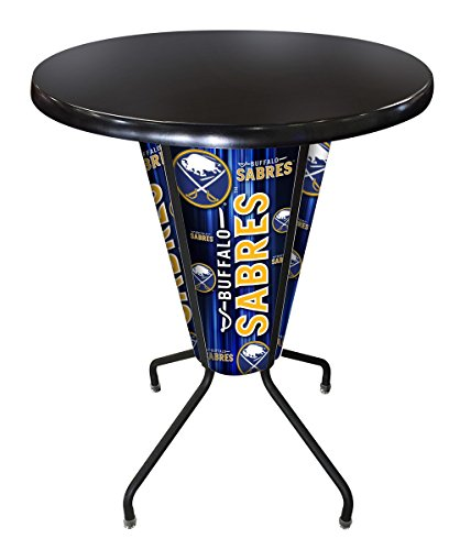 - Holland Bar Stool Co. Outdoor/Indoor LED Lighted Buffalo Sabres Pub Table