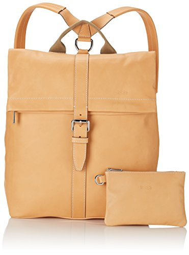 BREE Collection Stockholm 13, nature, backpack - Bolso mochila para mujer Marfil (nature 750)