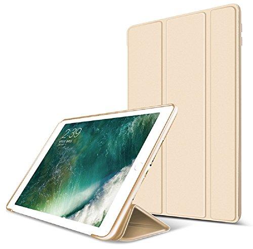 ZOYU iPad Mini 4 Case -Slim Lightweight Soft PU Leather Back Cover iPad Mini 4 7.9 inch 2015 Release Tablet With Auto Sleep/Wake for iPad Mini 4 Folio Case Cover,Gold