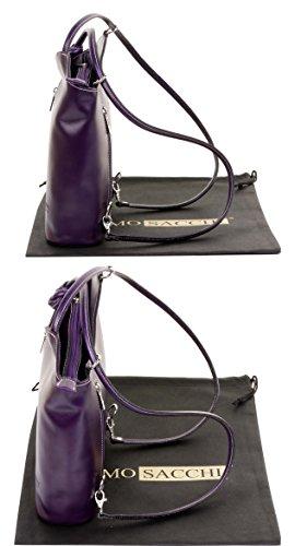 Purple nbsp;Versions cuir sac rangement en marque main et sac Grand protecteur de fabriqué italien la grandes sac à Sac main de nbsp;Comprend bandoulière à un moyennes à dos à ou 6pxCqEwHa4