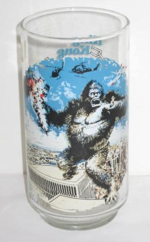 Vintage King Kong Coca Cola Limited Edition Glass 1976 (Coca Cola Limited Edition)