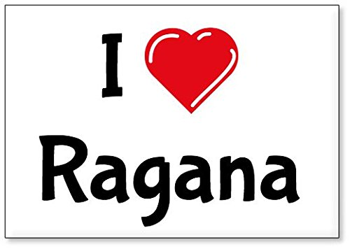 I Love Ragana, fridge magnet (design 3)