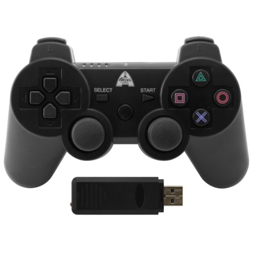 arsenal-gaming-ap3con7-wireless-rubberized-controller-black-playstation-3