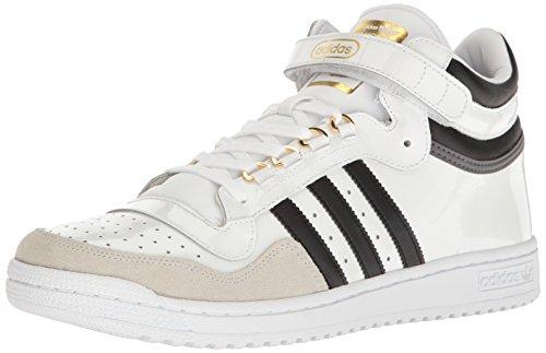 - adidas Originals Men's Shoes | Concord II Mid Fashion Sneakers, White/Black/Metallic/Gold, (11.5 M US)