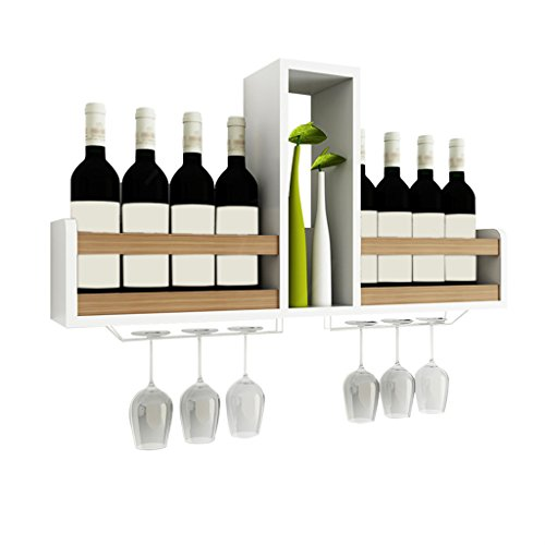 Yxsd Soporte de Vino para Restaurante Wine Rack Wine Shelf Restaurant (Color : Color Madera)