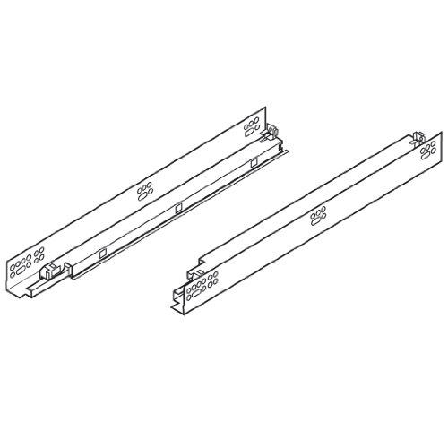 Blum Tandem Premium Undermount diapositivas con integrado de cierre suave extensión completa para cajones de 45,7cm...