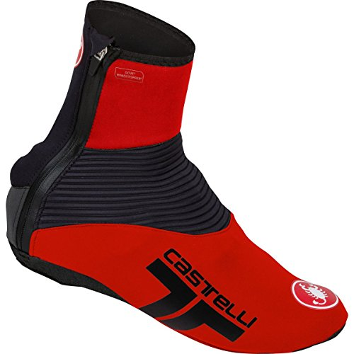 Red Shoe Cover (Castelli Narcisista 2 Shoe Covers Red/Black, L)