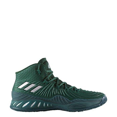 Adidas Crazy Explosive 2017 Shoe Mens Basketball Green / White