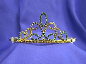 Mardi Gras Tiara Crown MG2 by -