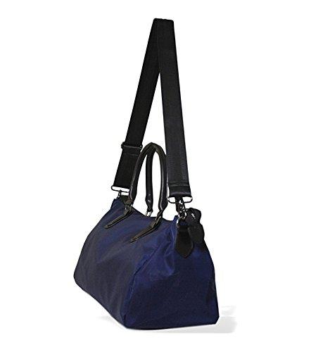 Bolsos Azulón cruzados MAMBO asa mujer bolsos Bolsos bolsos oscuro cadena azul Tela pequeña mujer bandolera con n6F7UFpqv