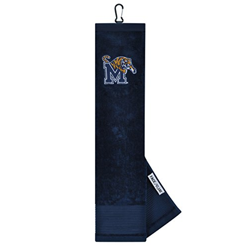 Memphis Tigers Face/Club Embroidered Towel