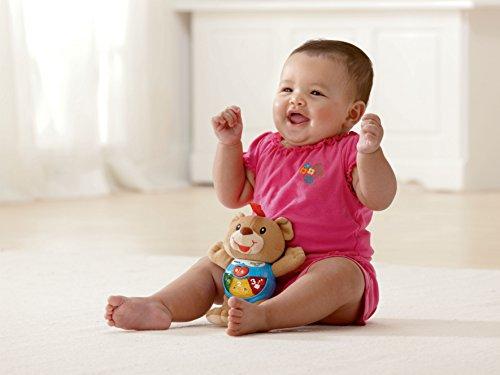 [해외]VTech 베이비 해피 라이트 베어 플레이/VTech Baby Happy Lights Bear Play